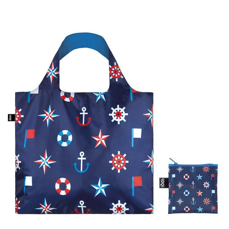 Loqi plasa colorata eco Nautical Classic