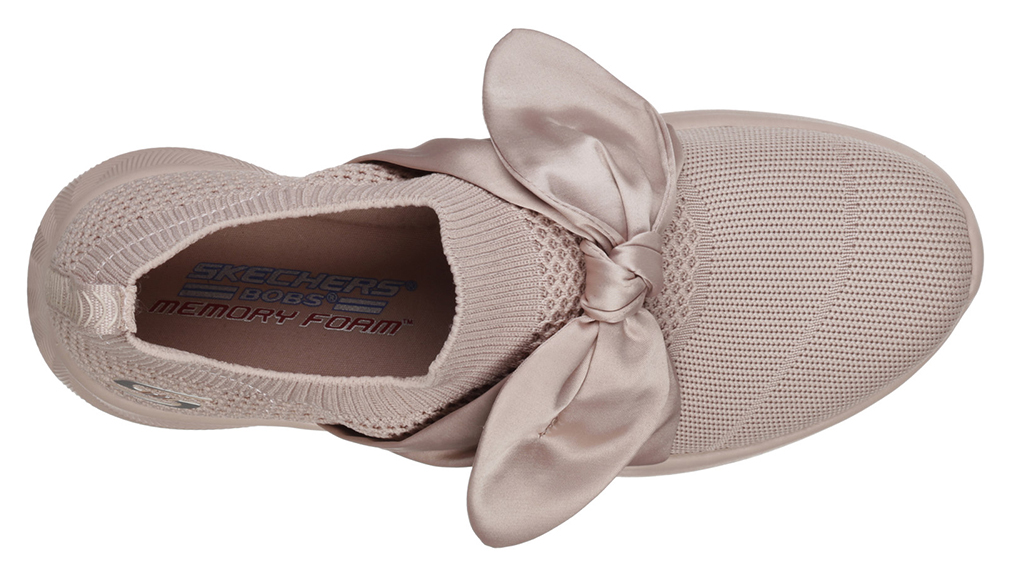 Skechers slip on pudra Bobs Squad 2 Bow Beauty