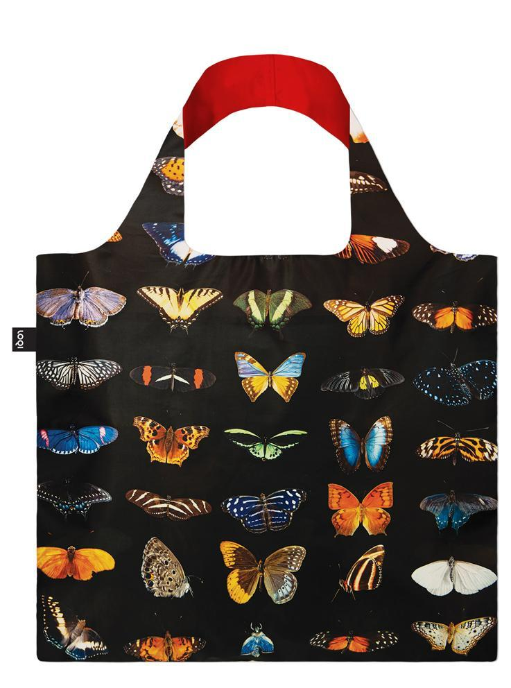 Loqi negre geanta National Geographic Butterflies and Moths