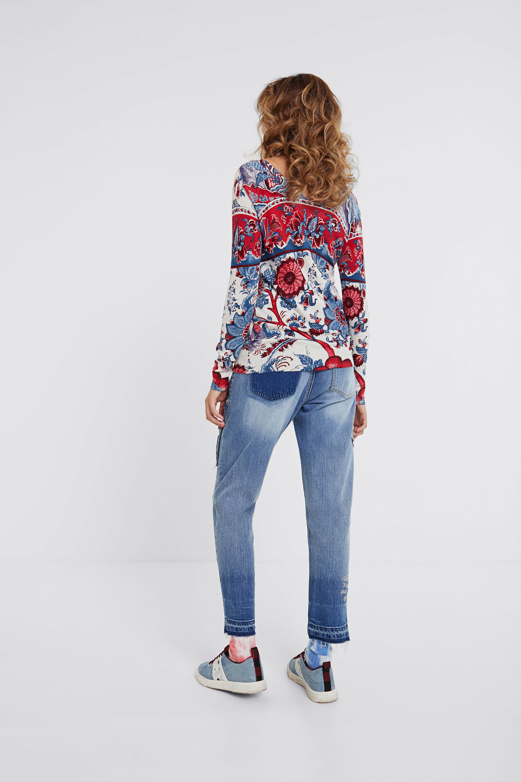 Desigual pulover colorat Jers Barrie