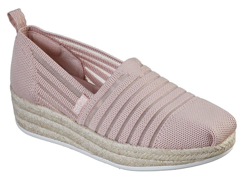 Skechers espadrile pudra Highlights 2.0 Homestretch Blush