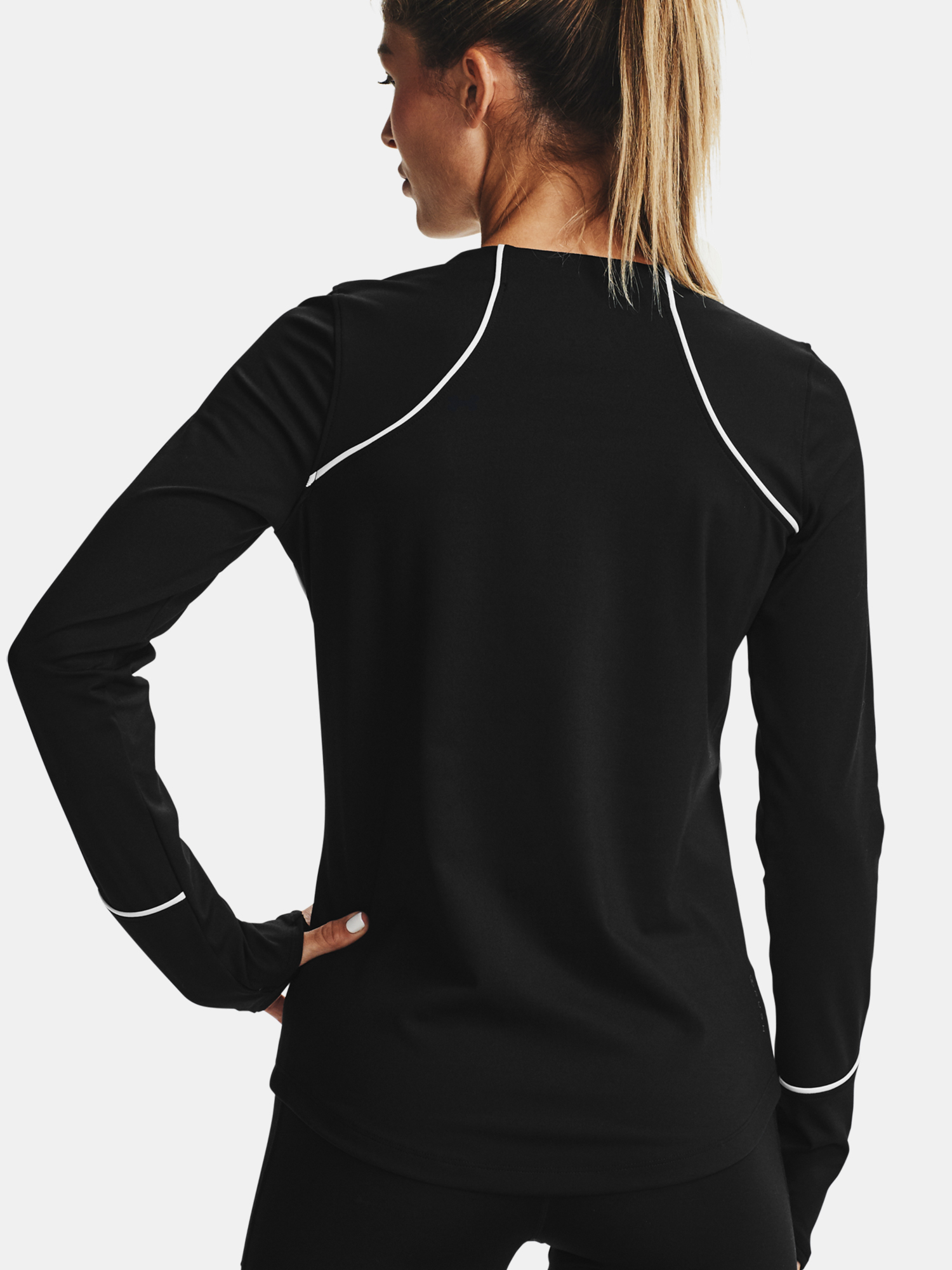 Tricou Under Armour CG Rush LS Crew-BLK