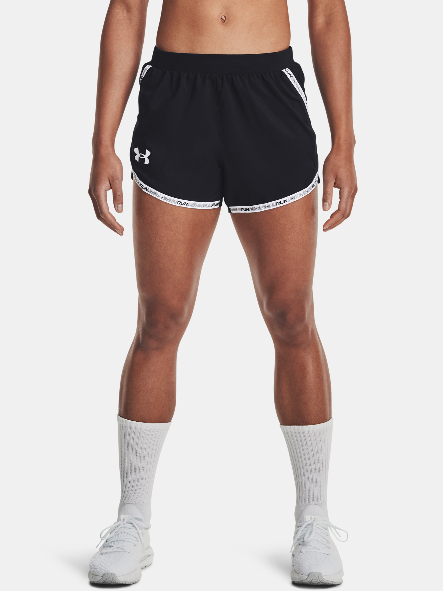 Pantaloni scurți  Under Armour UA Fly By 2.0 Brand Short-BLK
