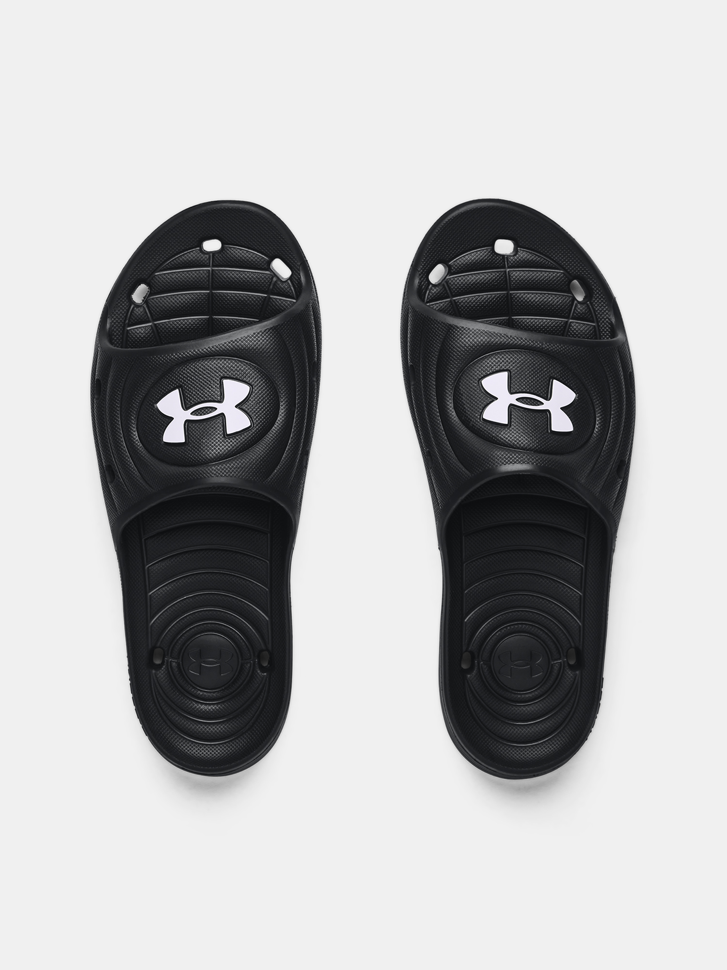 Papuci  Under Armour UA M Locker IV SL-BLK