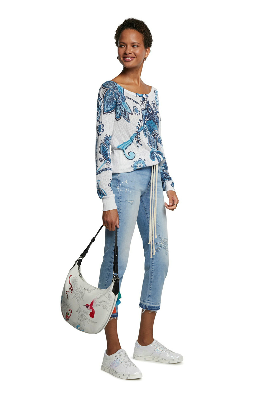 Desigual pulover Jers Nelson