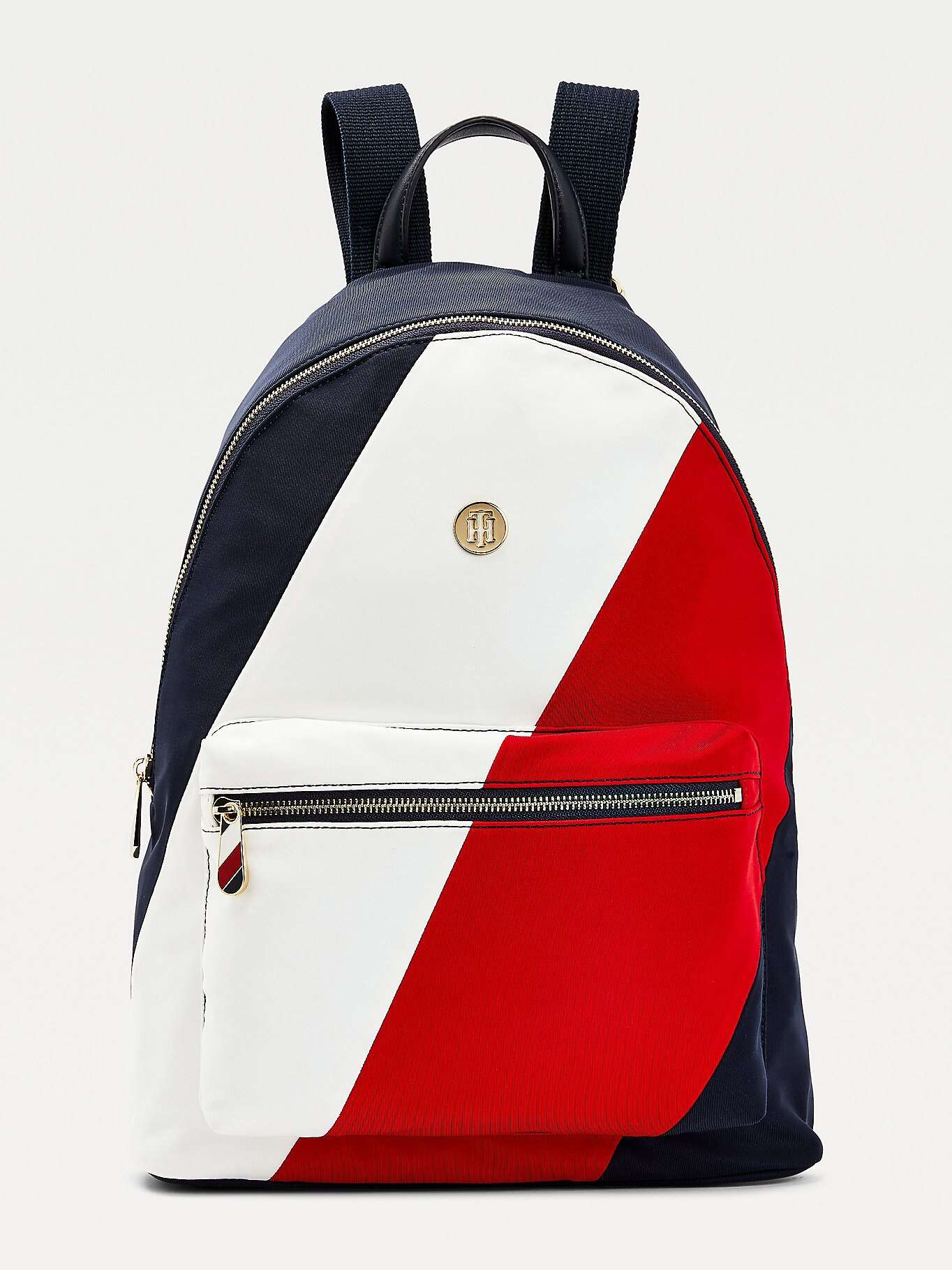 Tommy Hilfiger colorate rucsac Poppy Back Pack Soft Nylon Corporate Mix