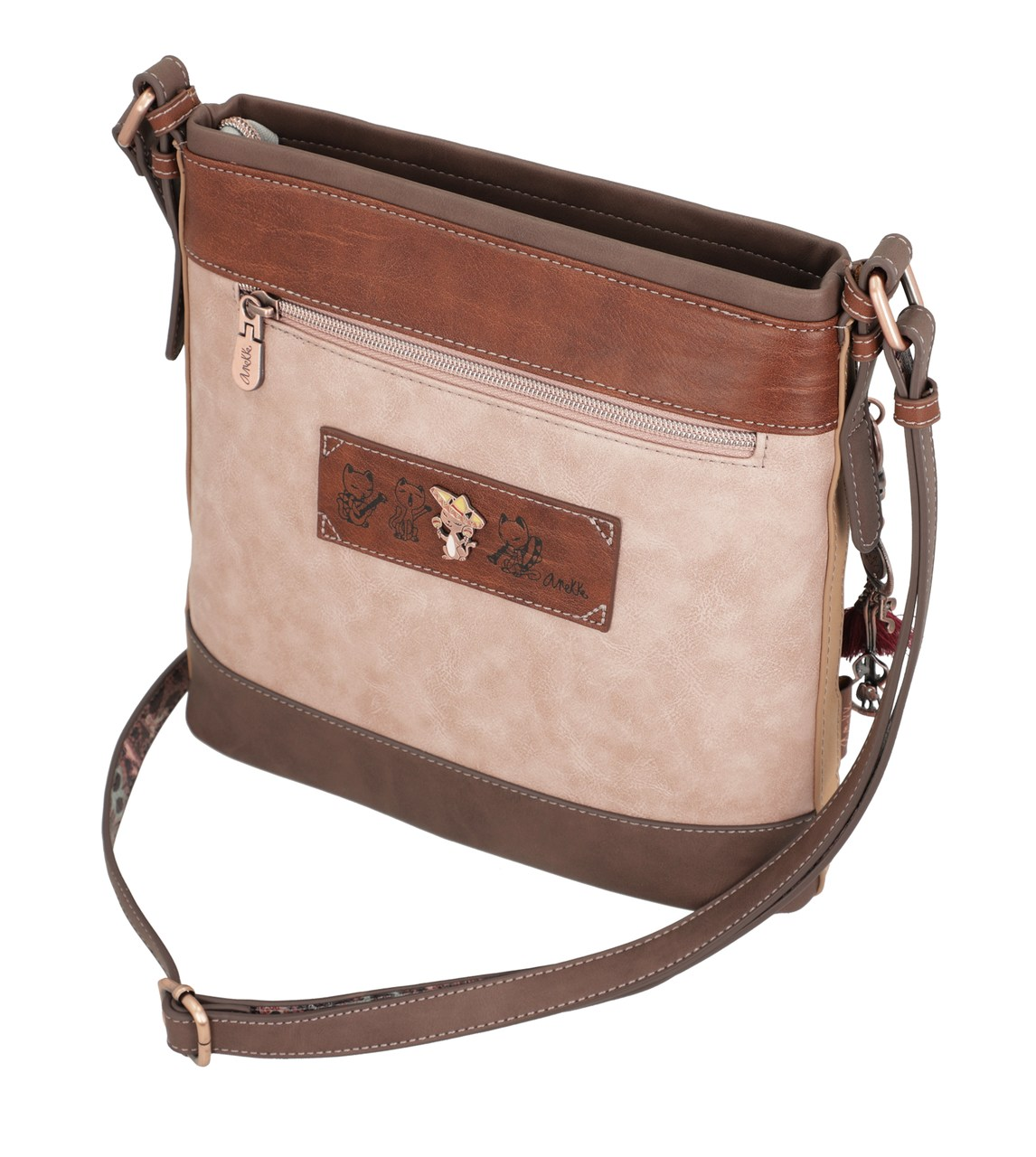 Anekke colorate crossbody geanta Ixchel Music